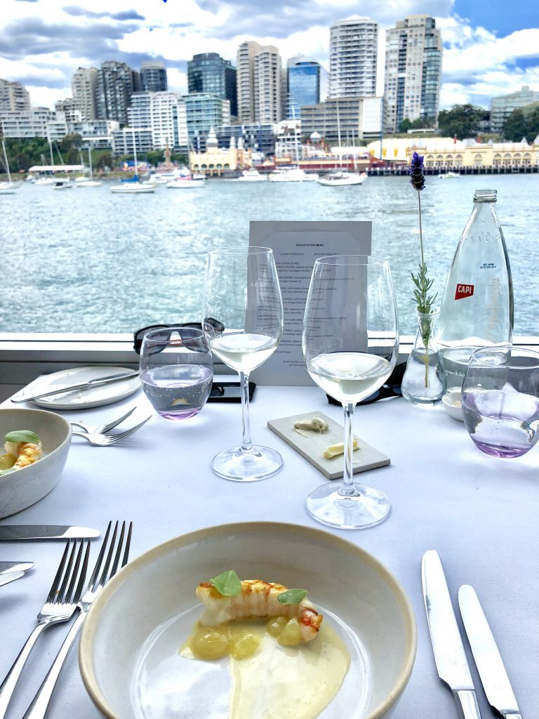 Lunching on Sydney Harbour - Sails at Lavender Bay - Giddy Guest