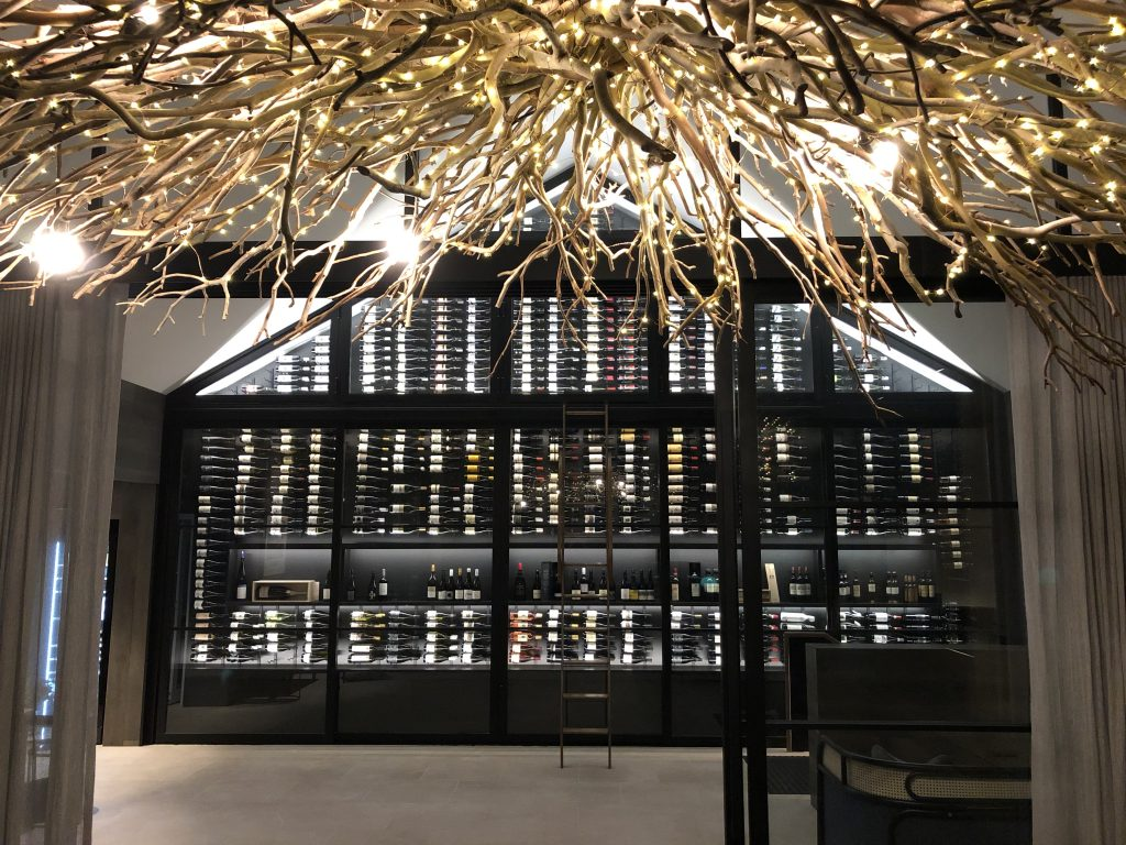 Spicers Guest House - Hunter Valley - wine wall