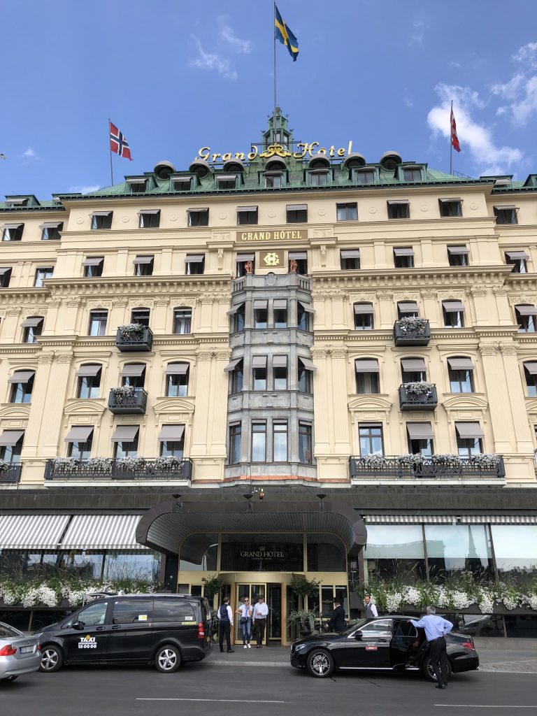 Grand Hotel Stockholm Five Star Accommodation - Giddy Guest