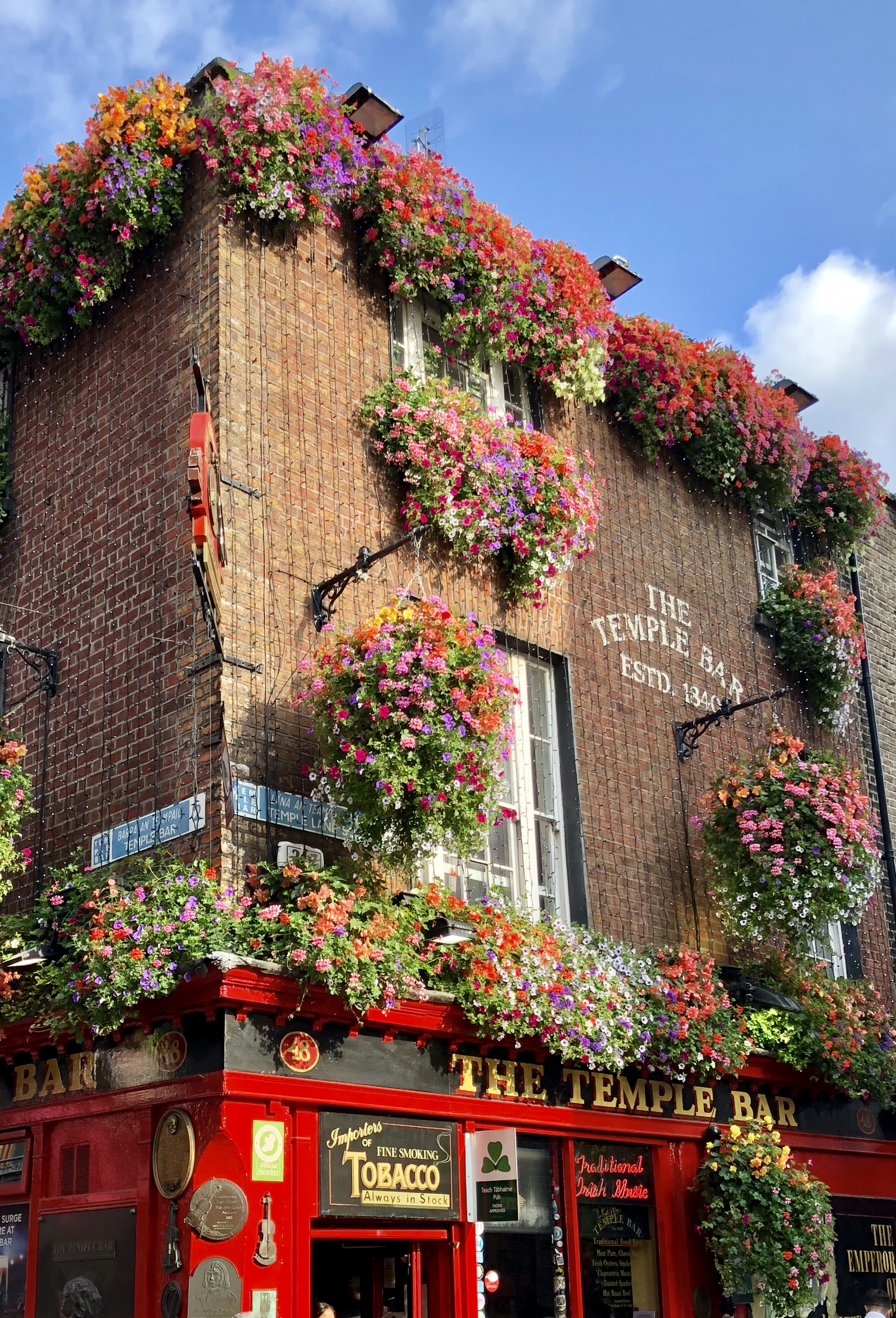 Eight Fun Things to See and Do in Dublin - Temple Bar - Giddy Guest