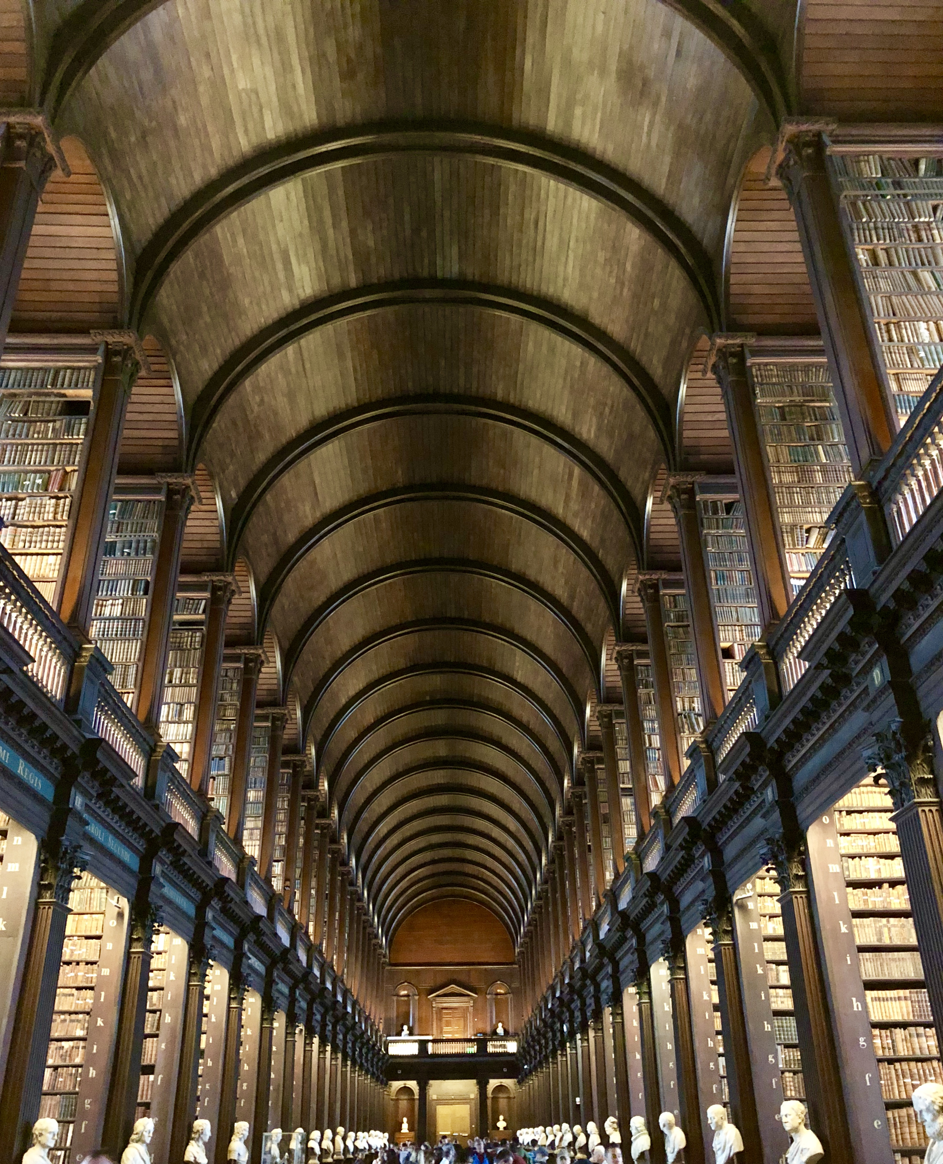 The Long Room Trinity College, Dublin - Giddy Guest