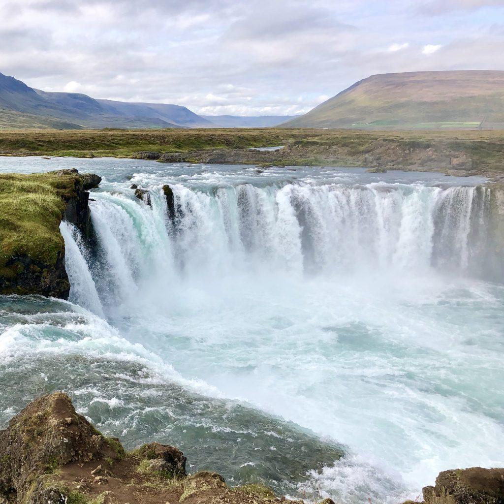 Akureyri, Iceland - Goðafoss Waterfall
