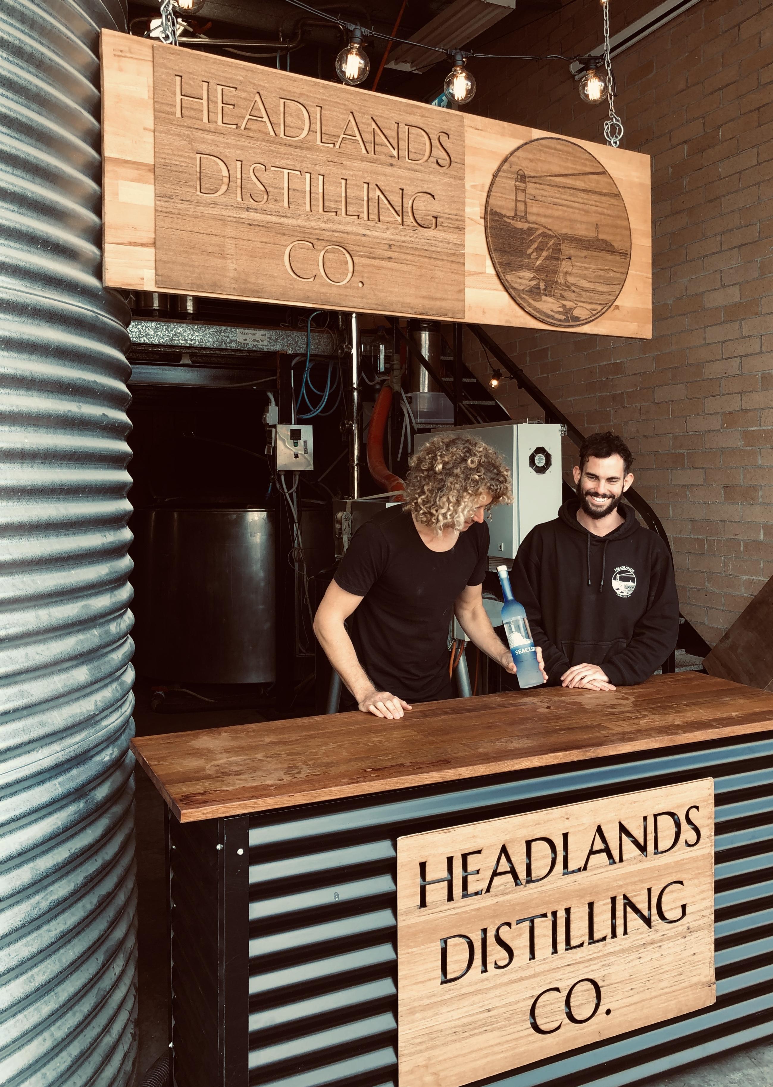 Headlands Distilling Co ,Wollongong - Wollongong's first vodka distillery