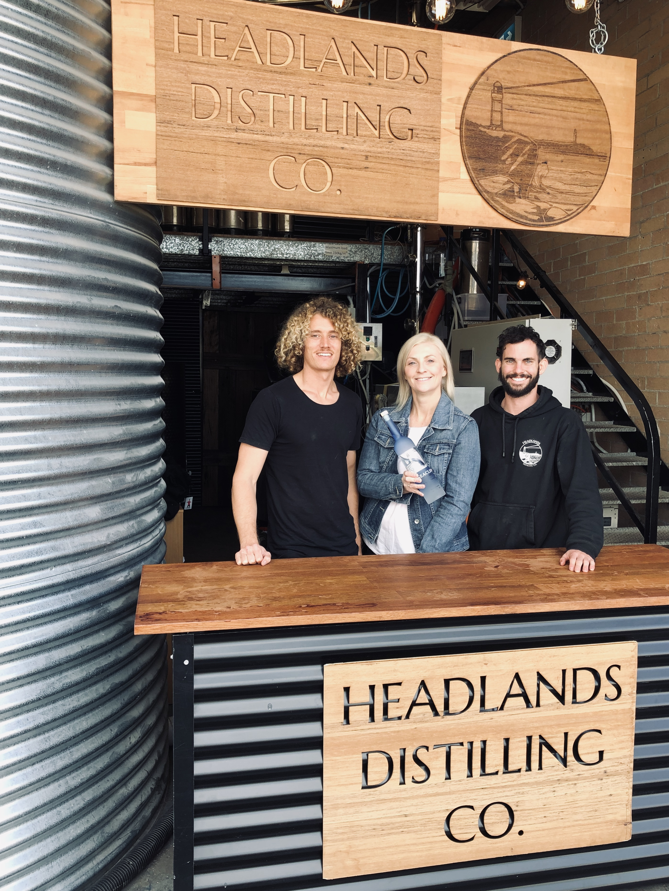 Headlands Distilling Co ,Wollongong's first vodka distillery