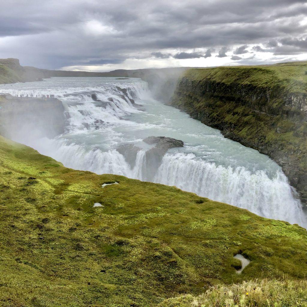 Gullfoss waterfall  - Reykjavík, Iceland - Golden Circle
