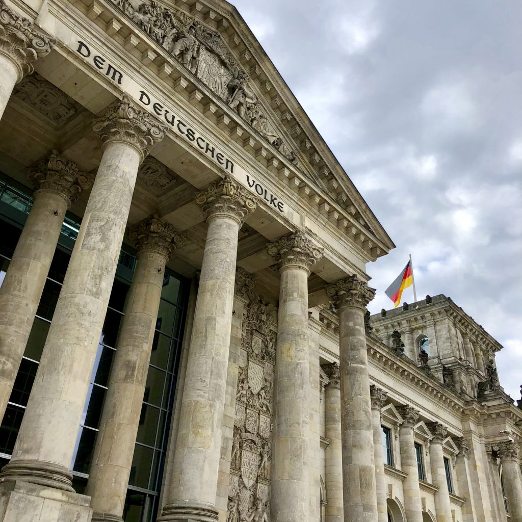 Reichstag building Berlin Germany with Celebrity Cruises