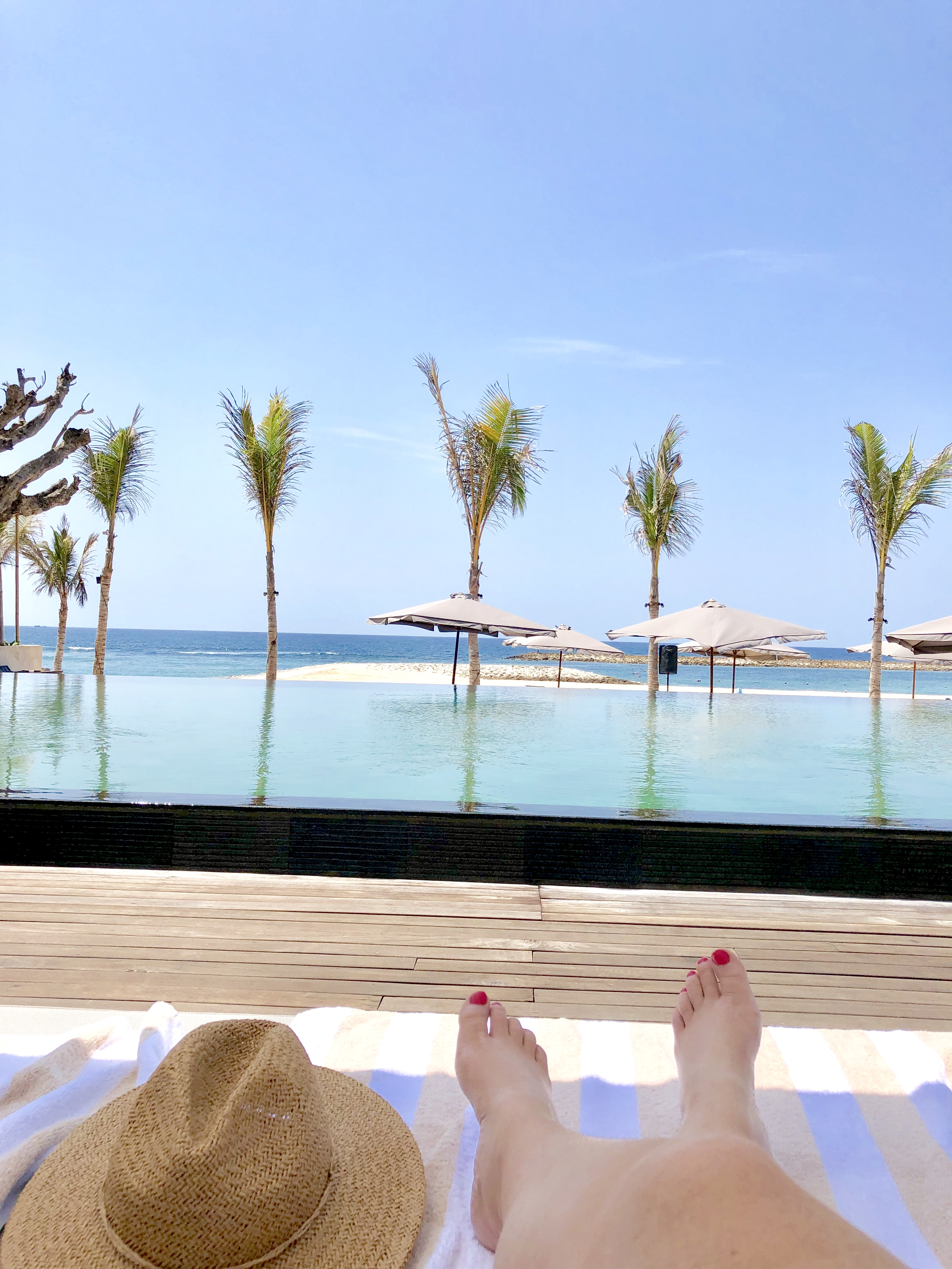 Beach Club Pool - Apurva Kempinski Bali