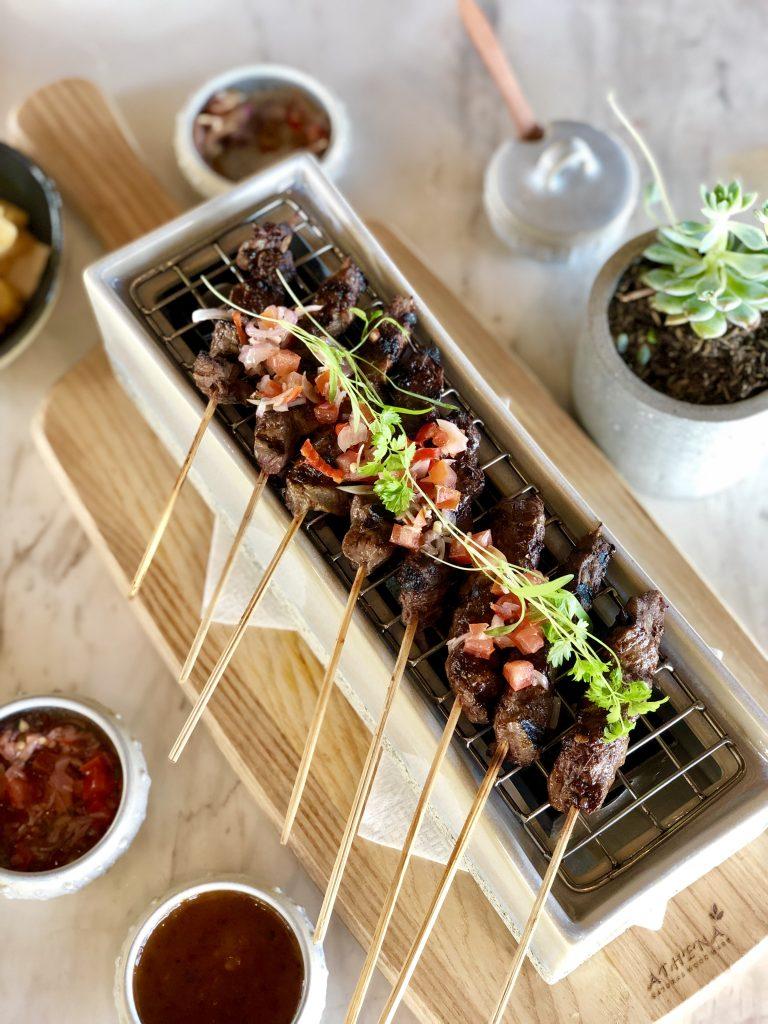 Beef Sate - Reef Beach Club Nusa Dua Bali - Bali's Best Restaurants - Giddy Guest