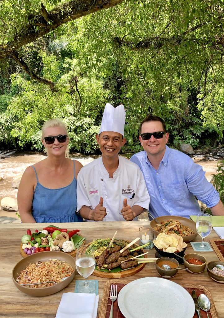 Four Seasons Resort Bali at Sayan -Sokasi cooking school in Ubud - Giddy Guest