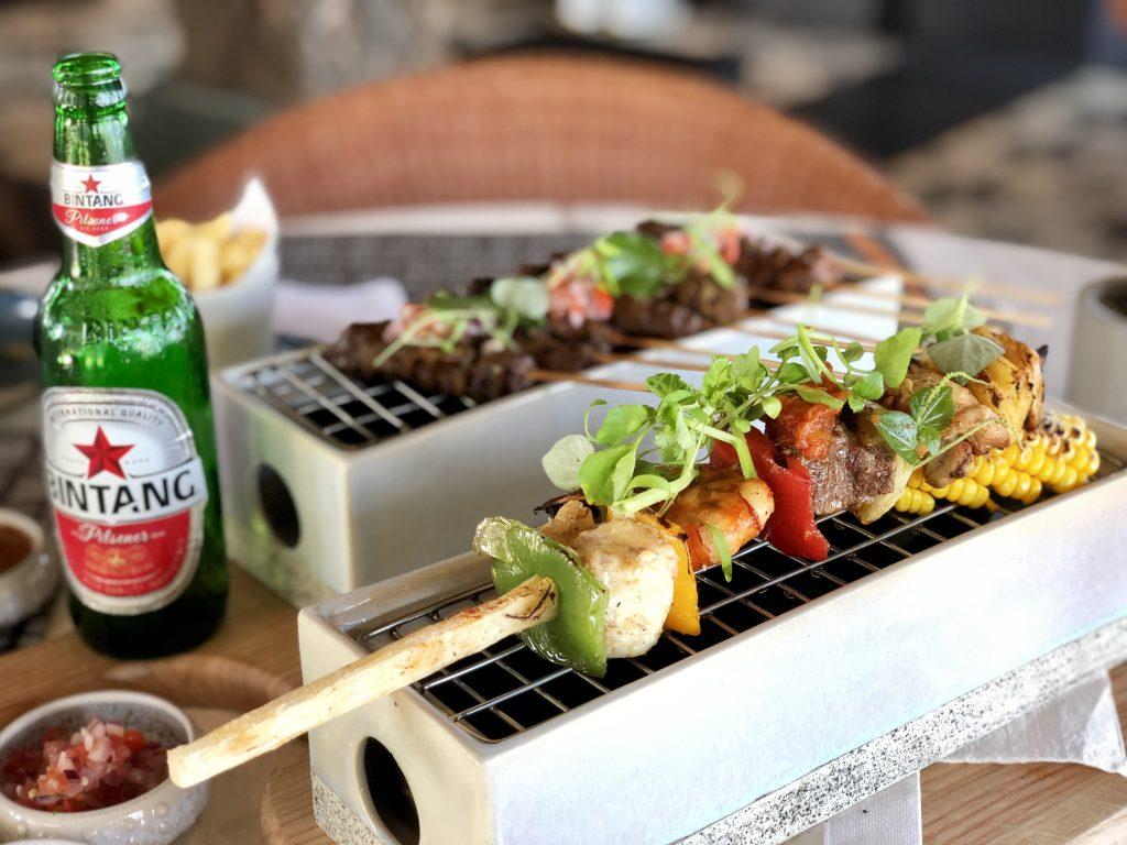 Reef Beach Club Kempinski Nusa Dua Bali - Bali's Best Beef Sate Sticks Restaurants - Giddy Guest