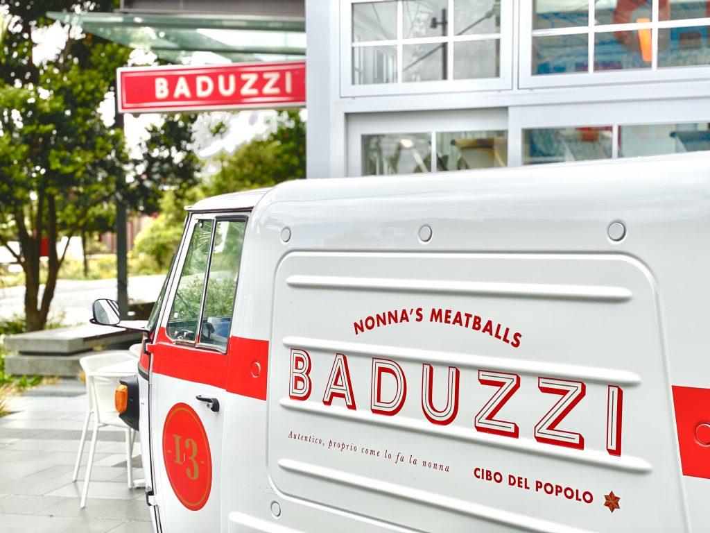 Baduzzi Meatball Cart - Wynyard Quarter , Auckland, New Zealand - Giddy Guest