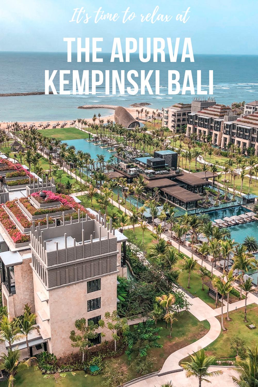 Luxury Stay at the Apurva Kempinski - Bali