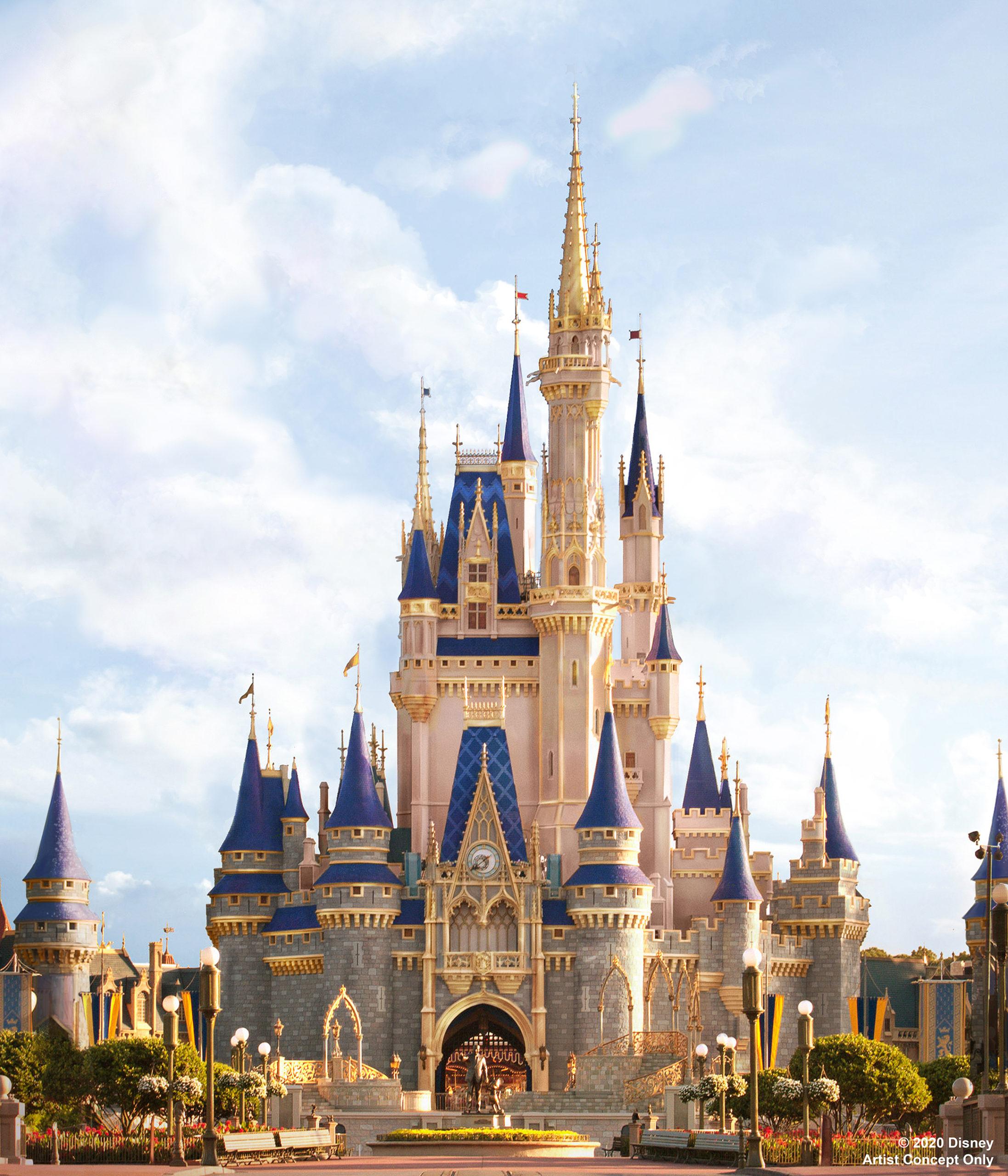 Cinderella Castle - Walt Disney World - 50th Anniversary