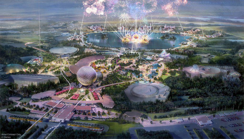 Walt Disney World - 50th Anniversary -Epcot