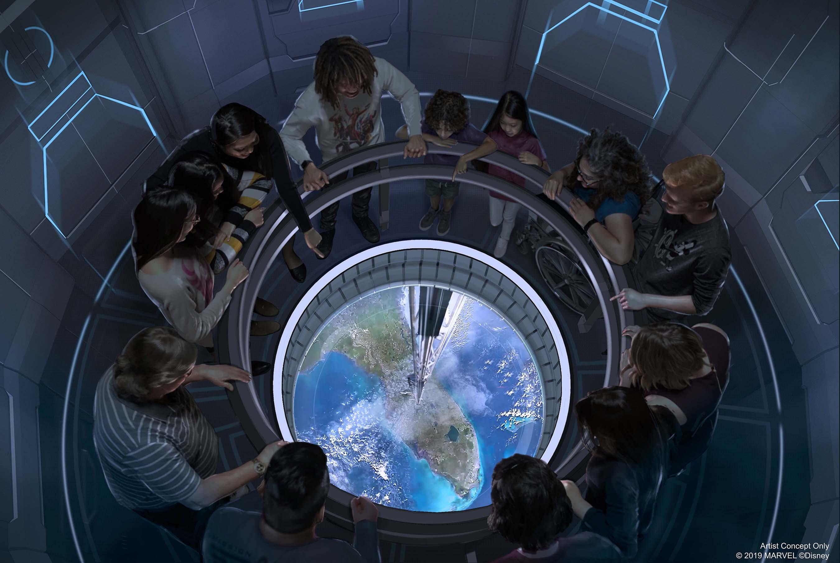 Space 220 Restaurant - Walt Disney World - 2020