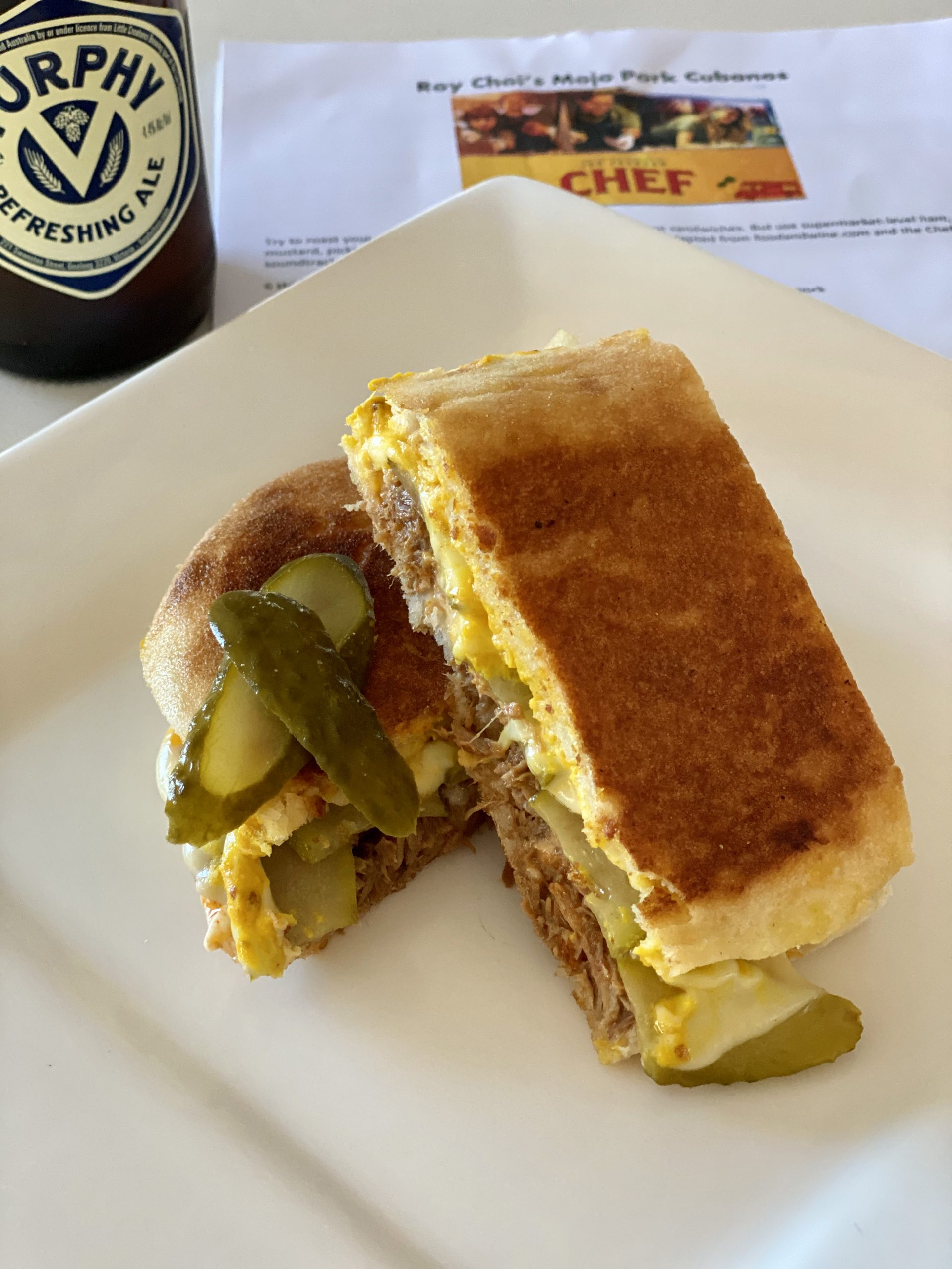 Cubano from Chef with Jon Favreau  - Giddy Guest